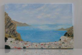 Obraz Wyspy, obraz olejny na płótnie lnianym